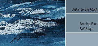 Naval SW 6244 Monochromatic Color Scheme