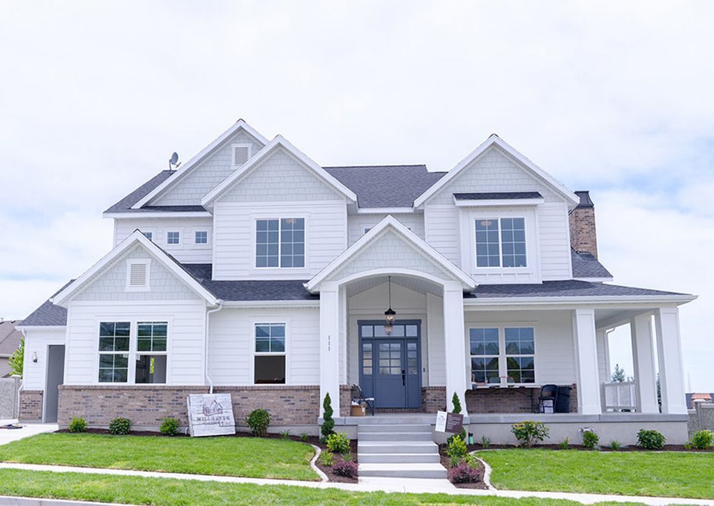 Exterior accent color in Silver Strand by Millhaven Homes