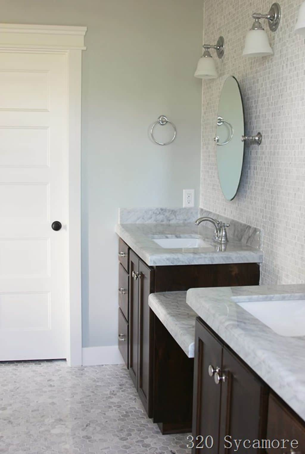 Silver Strand in bathroom from 320 Sycamore Blog