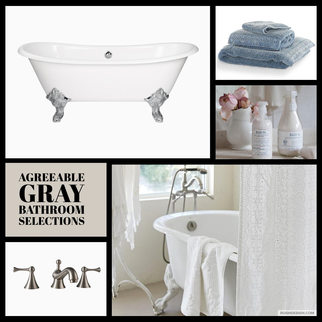 Agreeable Gray Bathroom Selections