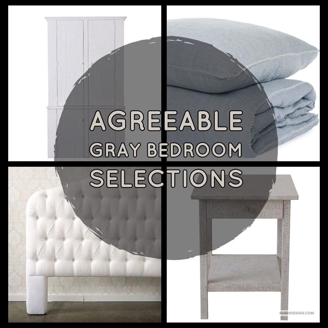 agreeable gray bedroom selections 1 - Agreeable Gray