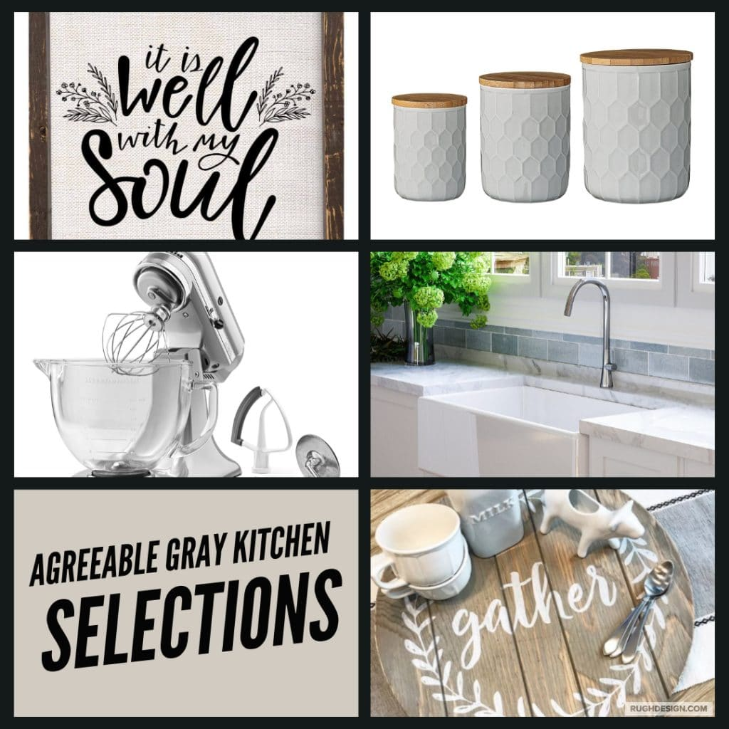 Agreeable Gray Kitchen Selections