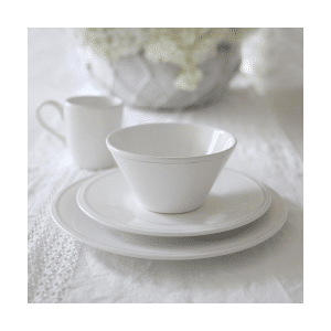 Angel White Dinnerware Collection from Rachel Ashwell