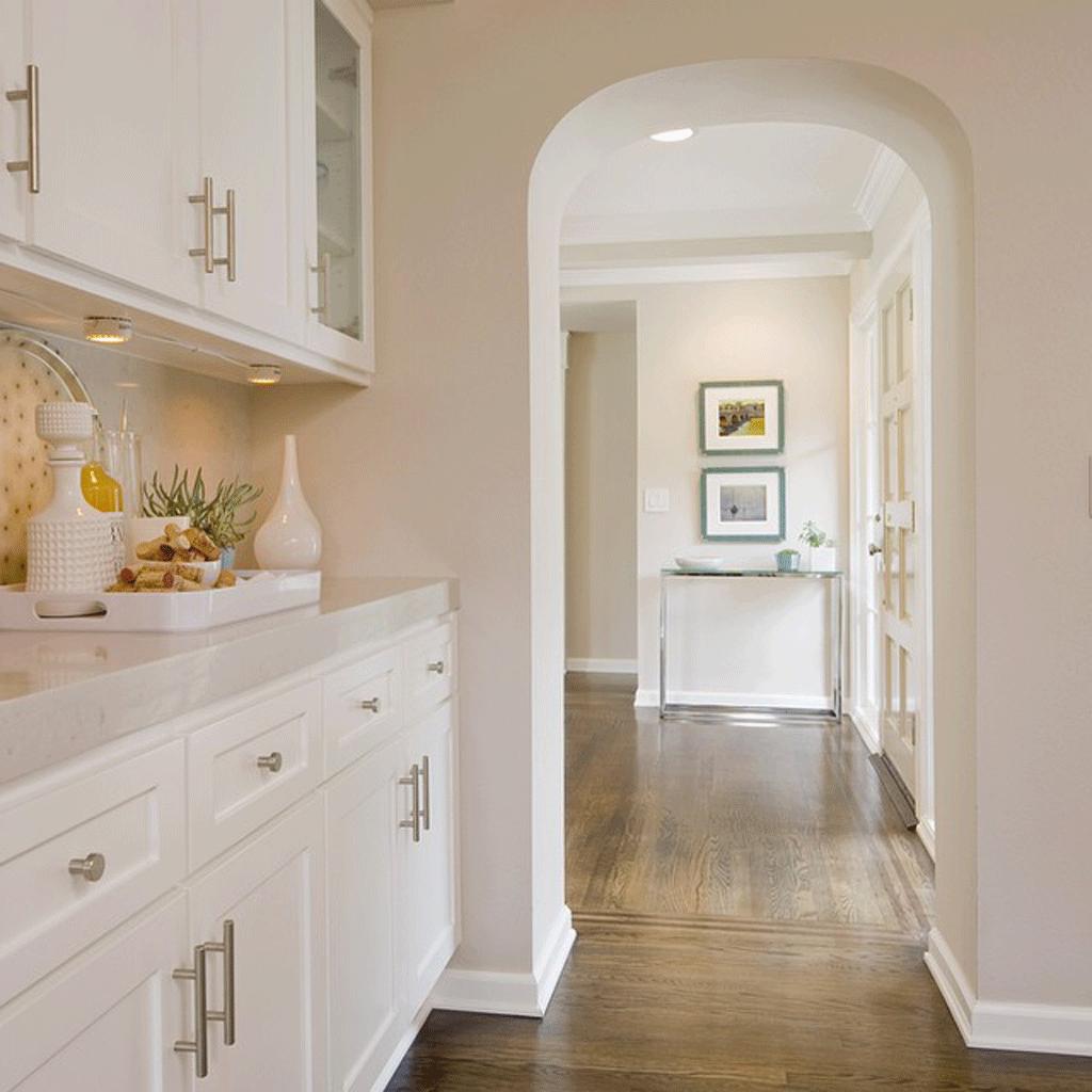 Modern Gray Kitchen From Sea Salt Coastal Interiors