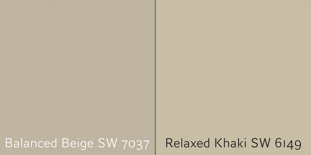 From Beige to Gray using Balanced Beige and Relaxed Khaki