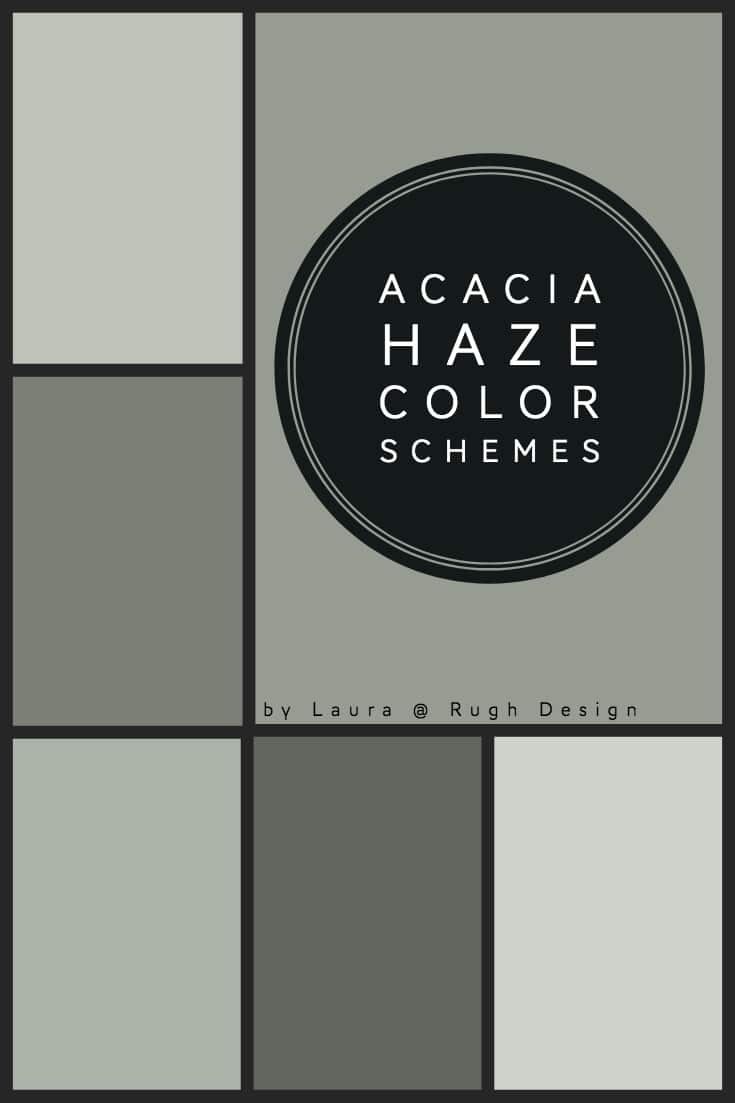 Color Scheme For Acacia Haze Sw 9132