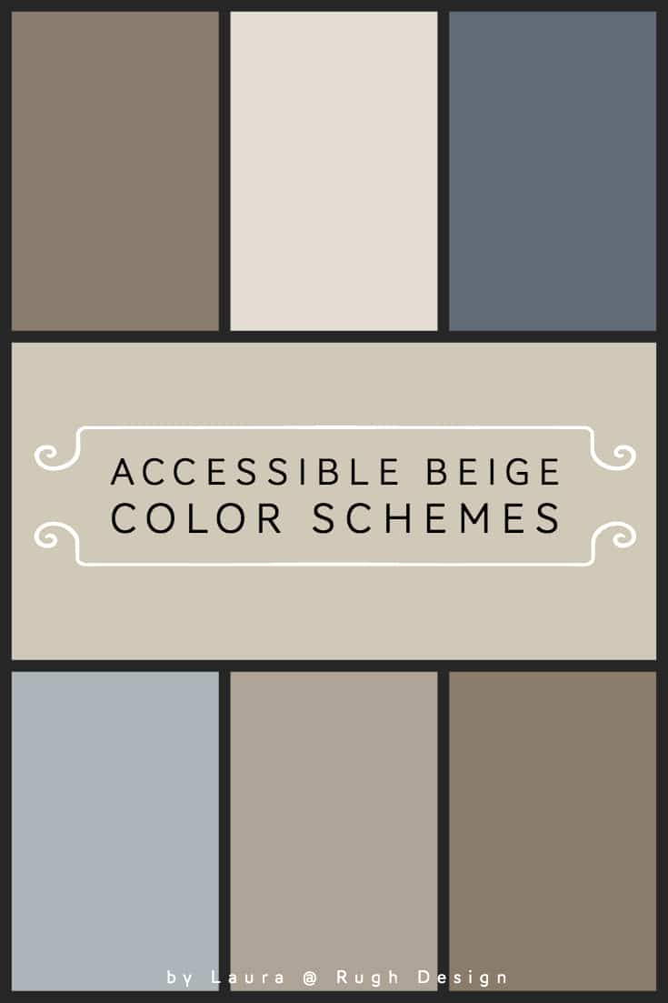Color Scheme For Accessible Beige Sw 7036