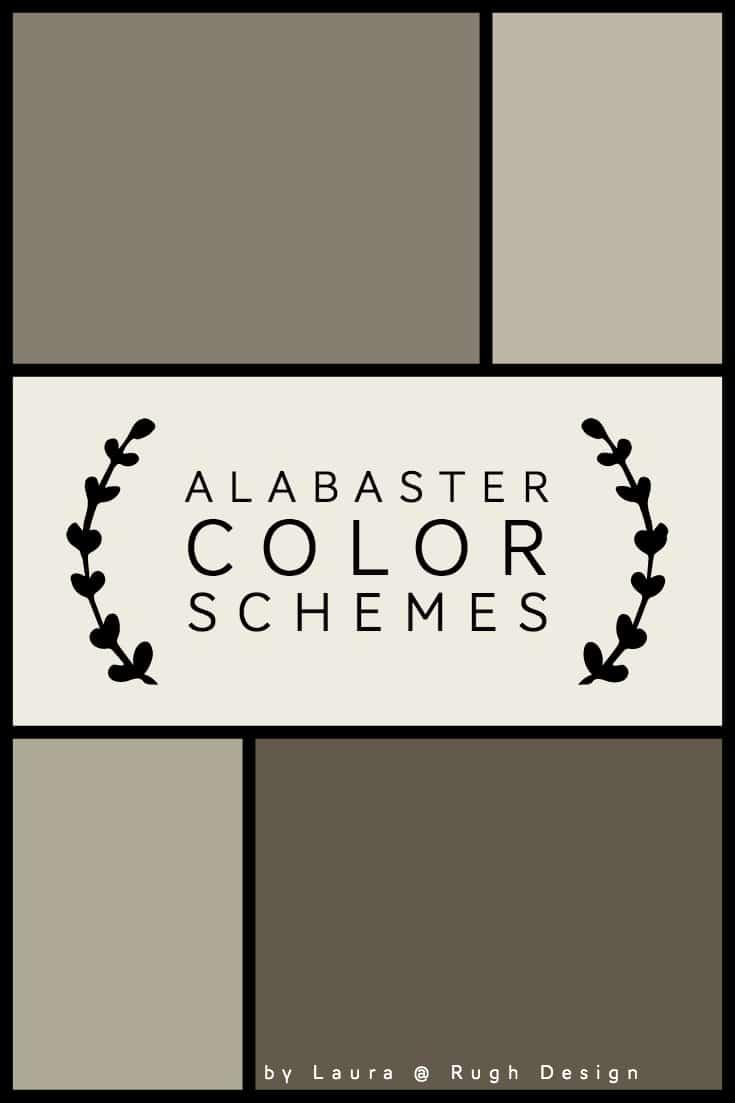 Color Scheme For Alabaster Sw 7008