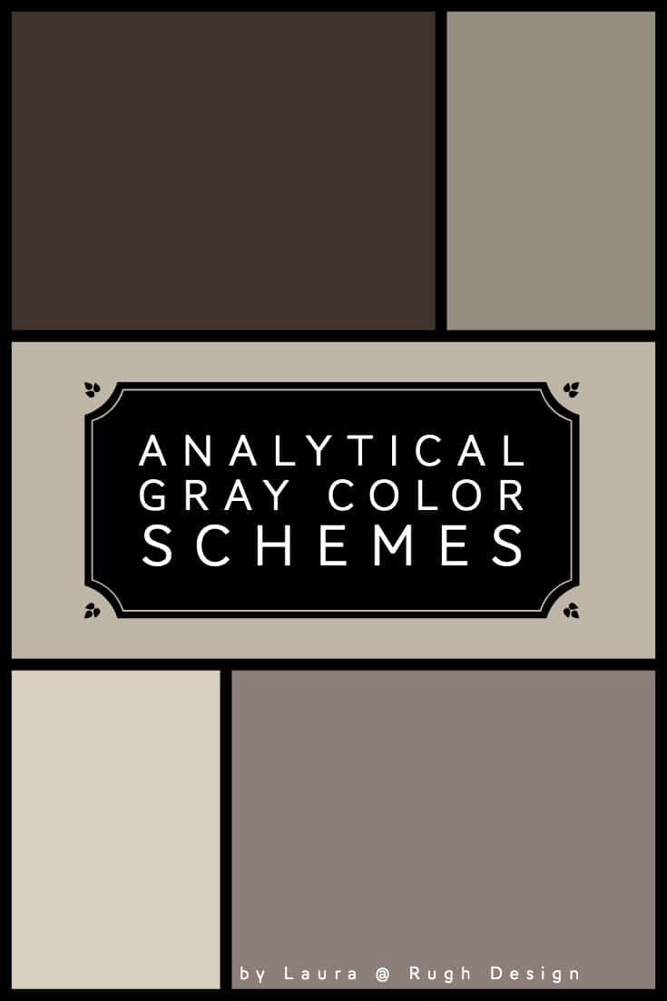 Color Scheme For Analytical Gray