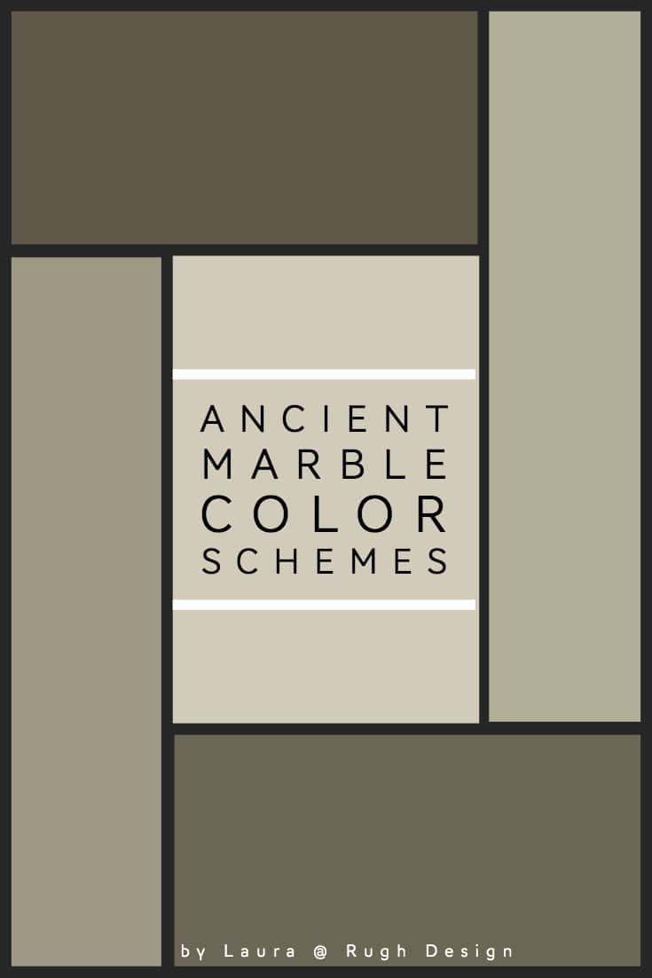 Color Scheme For Ancient Marble