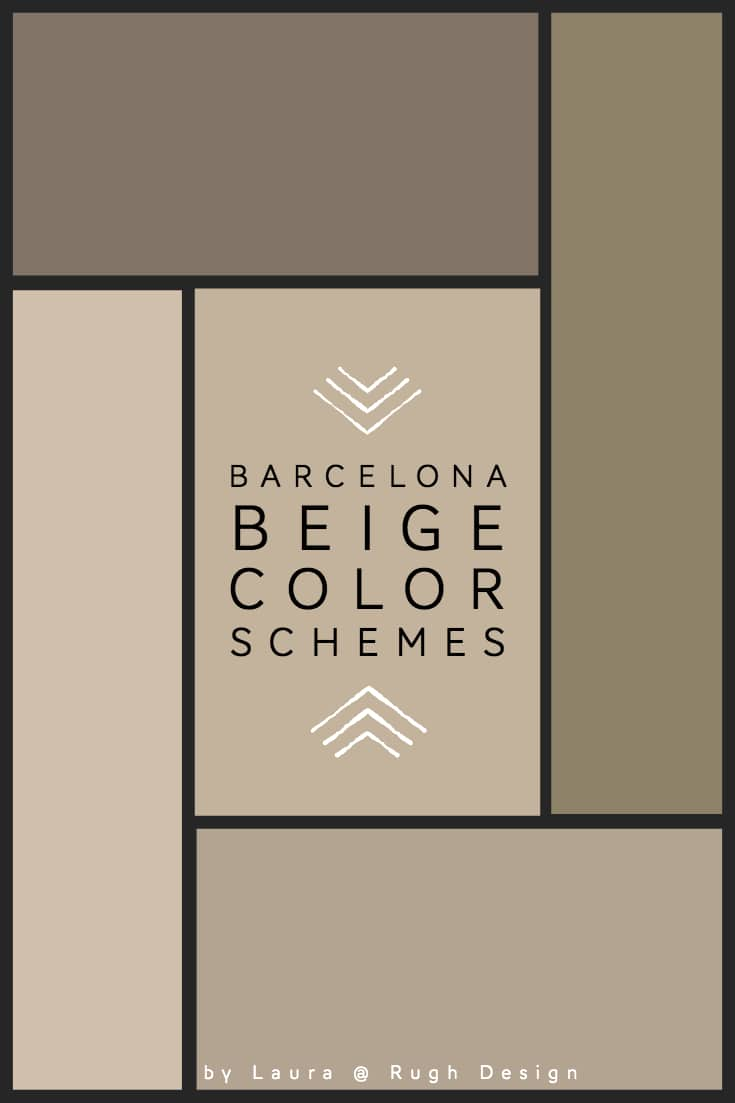 Color Scheme For Barcelona Beige Sw 7530