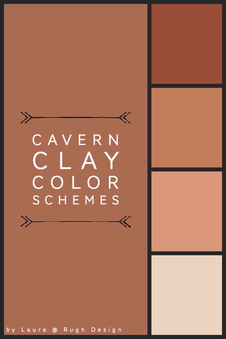 Color Scheme For Cavern Clay Sw 7701