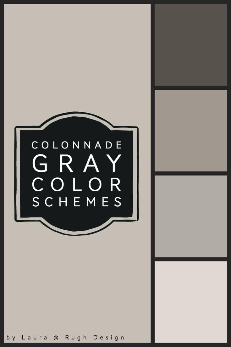 Color Scheme For Colonnade Gray