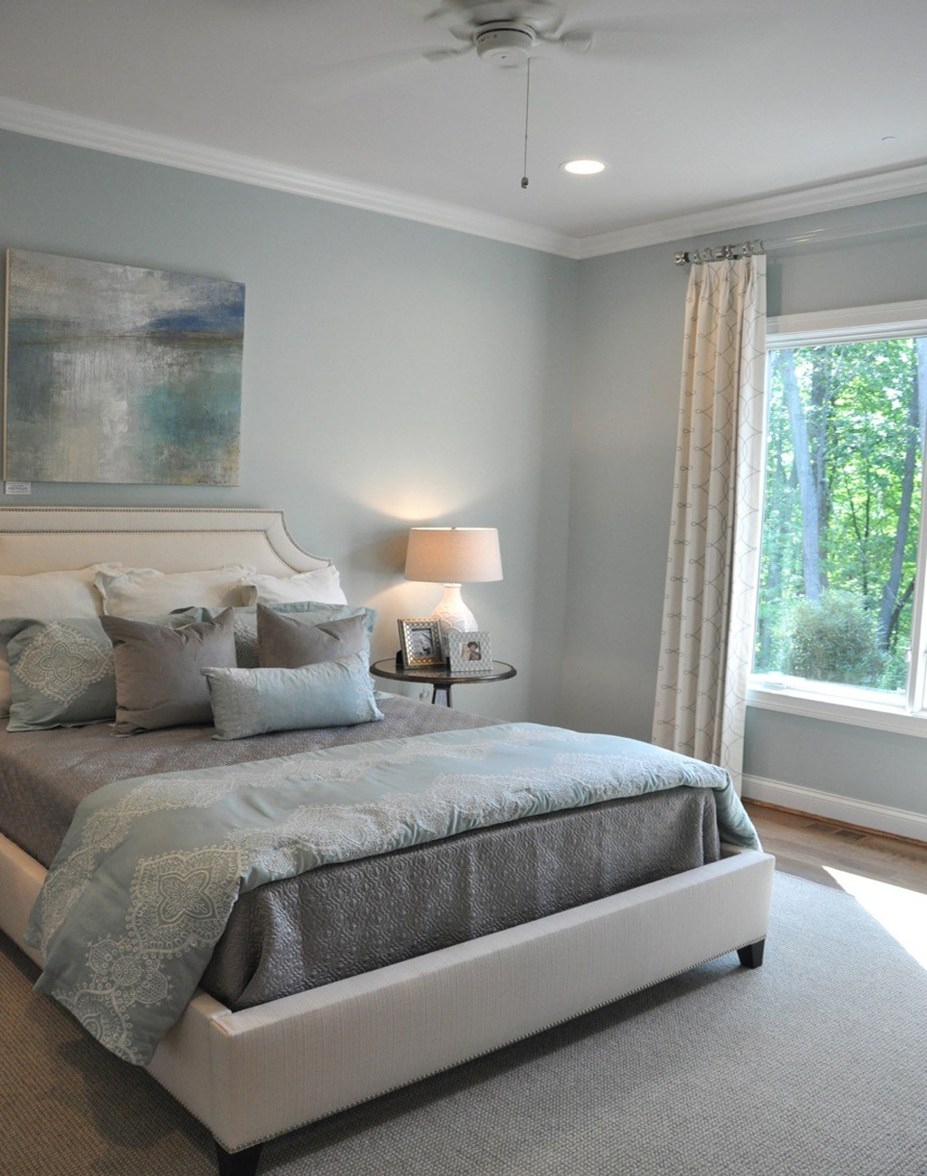 Quietude in the Bedroom by Weiland Builders via Evolution of Style Blog