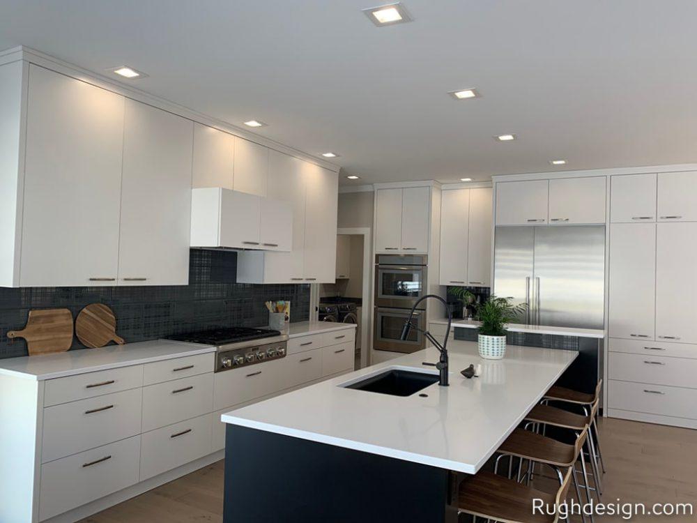 Snowbound SW 7004 in a kitchen