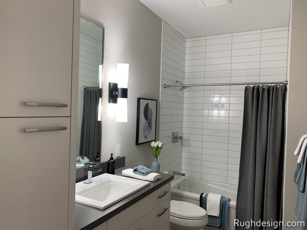 Snowbound SW 7004 walls with Worldly Gray SW 7043 cabinets 1000x750 - Portfolio