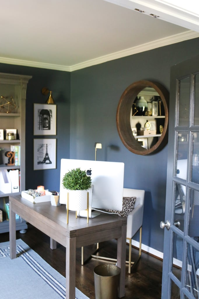 Outerspace in Home Office from MW Designs blog