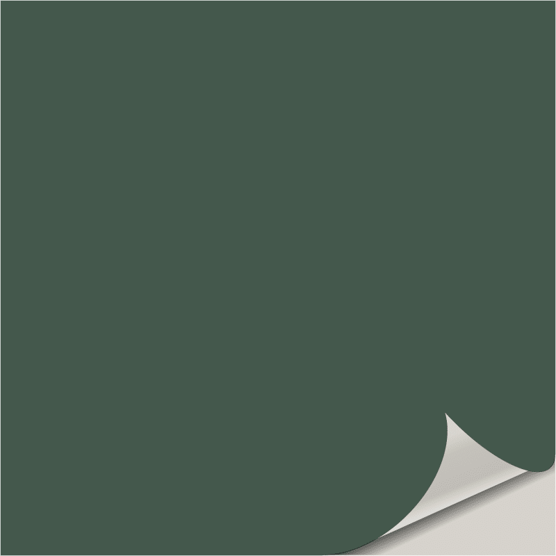 Billiard Green SW 0016 Peel and Stick Paint Sample