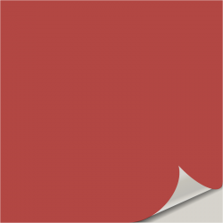 Red Tomato SW 6607 Peel and Stick Paint Sample