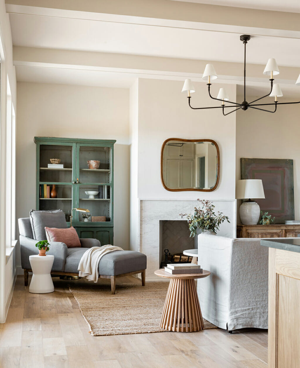 Sherwin-Williams Shoji White SW 7042 as a main neutral by High Street Homes for The Parks Home project